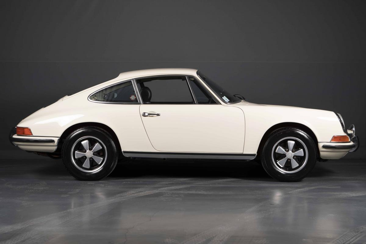 photo PORSCHE 911 E 1969 Bretagne